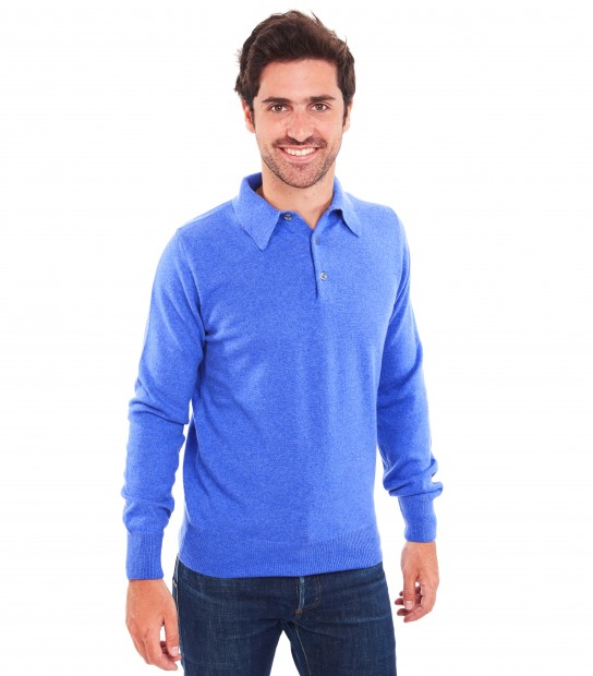 Polo cachemire homme - Jean