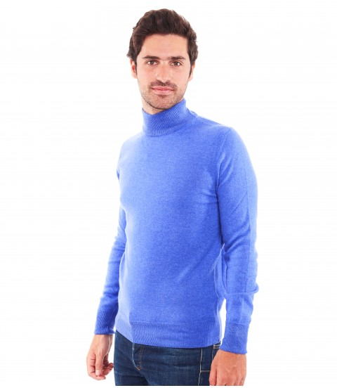 Pull col montant - Jean