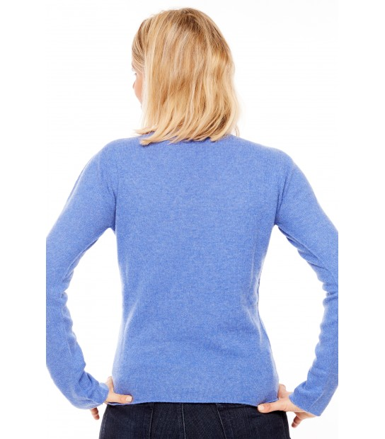 Pull Cachemire col V sans couture - Jean