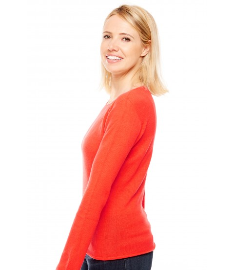 Pull cachemire - Rouge