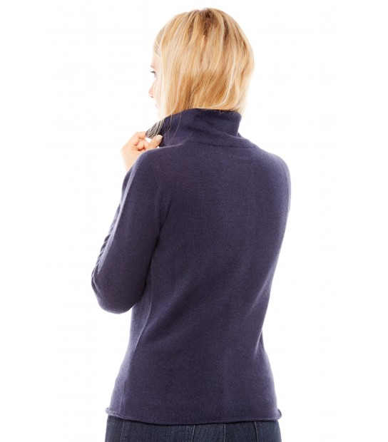 Gilet col montant - Navy