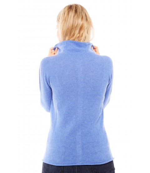 Gilet col montant - Jeans