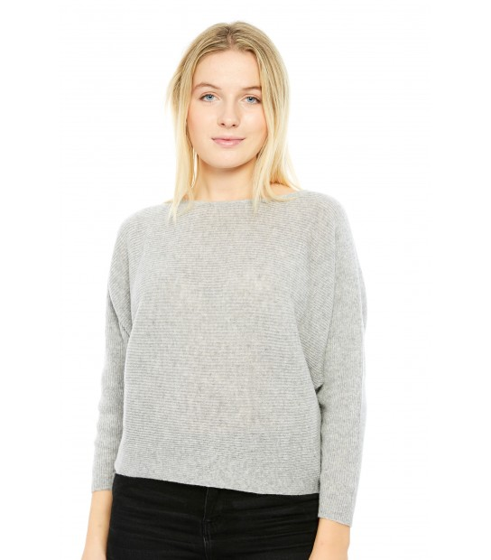 Pull oversize - Gris