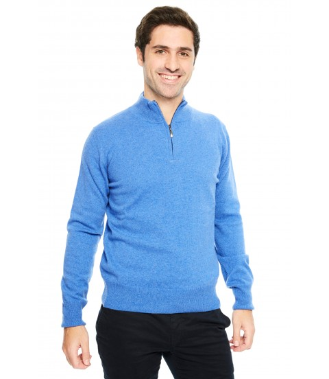 Pull cachemire col camionneur - Jean
